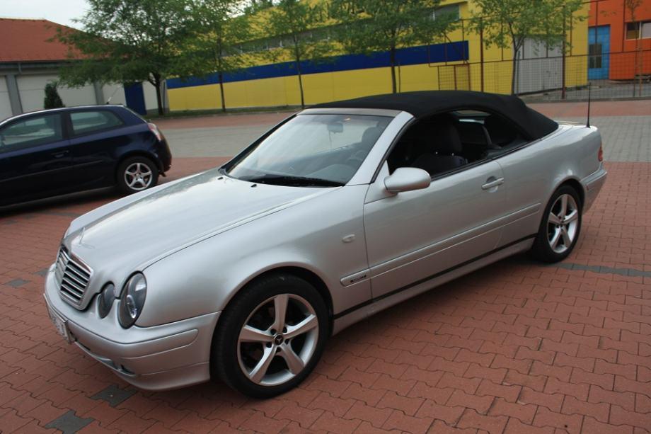 mercedes clk cabrio 200 sport 1998 god. Black Bedroom Furniture Sets. Home Design Ideas