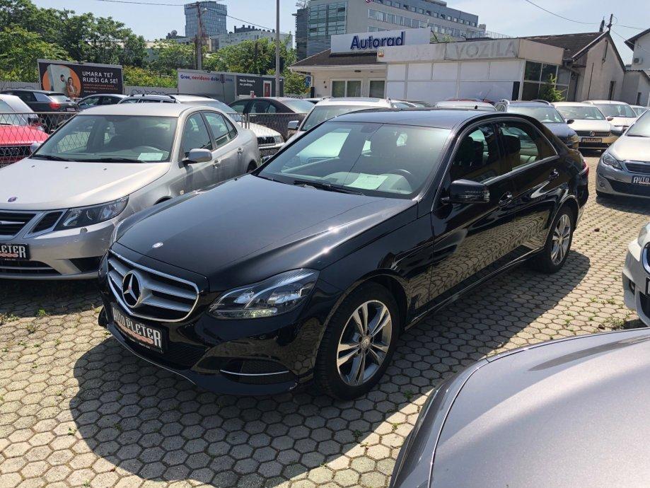 Mercedes-Benz E-klasa 220 Bluetec Avantgarde 2.1 CDI