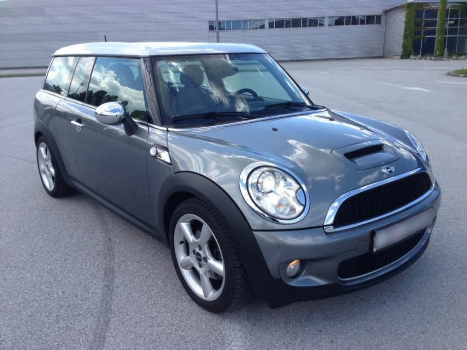 MINI Clubman Cooper S, model R55, 1.6 Turbo, 128kW