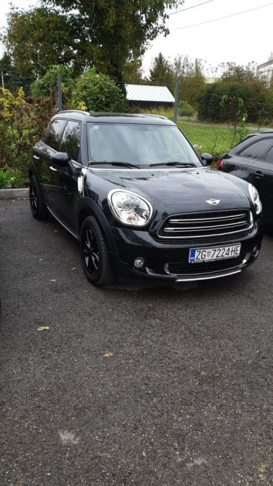 MINI Countryman 1.6D, Black Edition, 1.vl. 25000km, full oprema