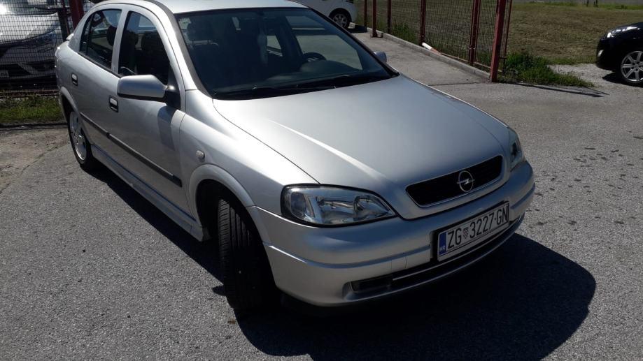 Opel Astra 1,4 16V -ATESTIRAN PLIN- VOZILO IZ RH-