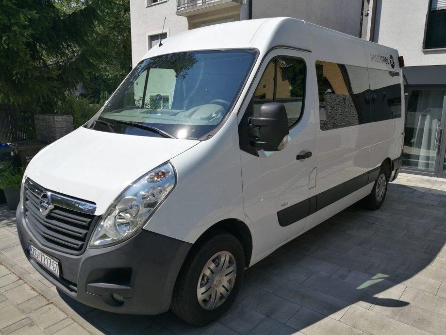 Opel Movano 2,3 CDTI 8+1 sjedala-putnički