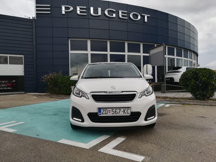 Peugeot 108 1,0 VTi  VRHUNSKI OČUVANO VOZILO !!!