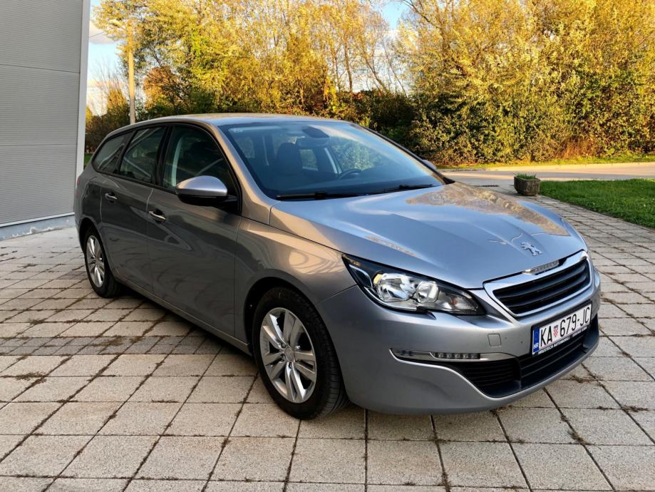 Peugeot 308 SW 1,6 BlueHDI • AUTOMATIK • 88 kW/120ks • 2016 g. •