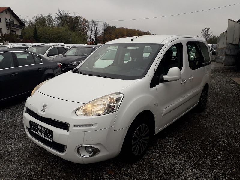 Peugeot Partner 1,6 e-HDi*68kw*Klima*Led Svjetla*2xBoč.Kliz.Vrata*