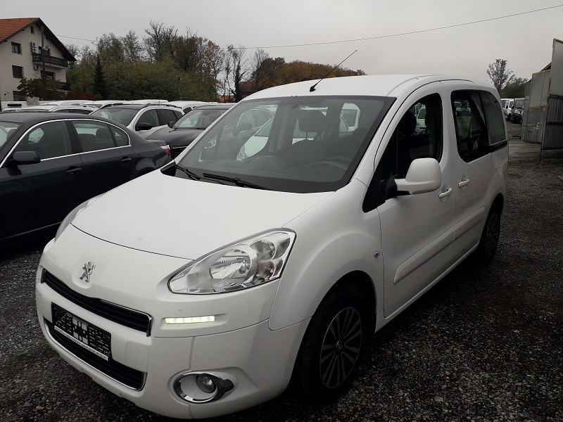 Peugeot Partner 1,6 e-HDi*68kw*Klima*Led Svjetla*2xBoč.Klizna Vrata*