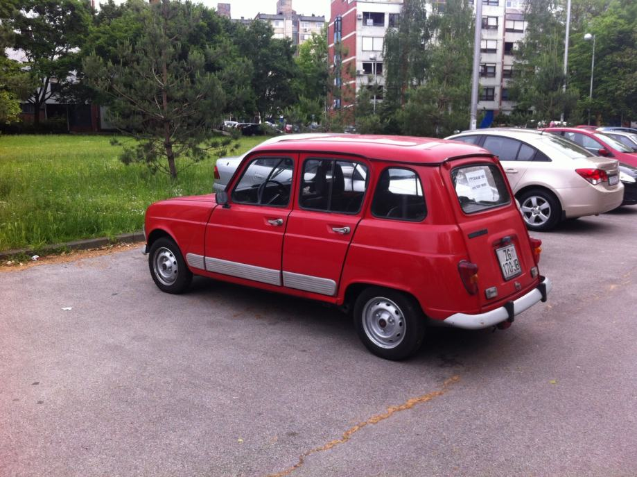 Renault 4 Gtl  1991 God