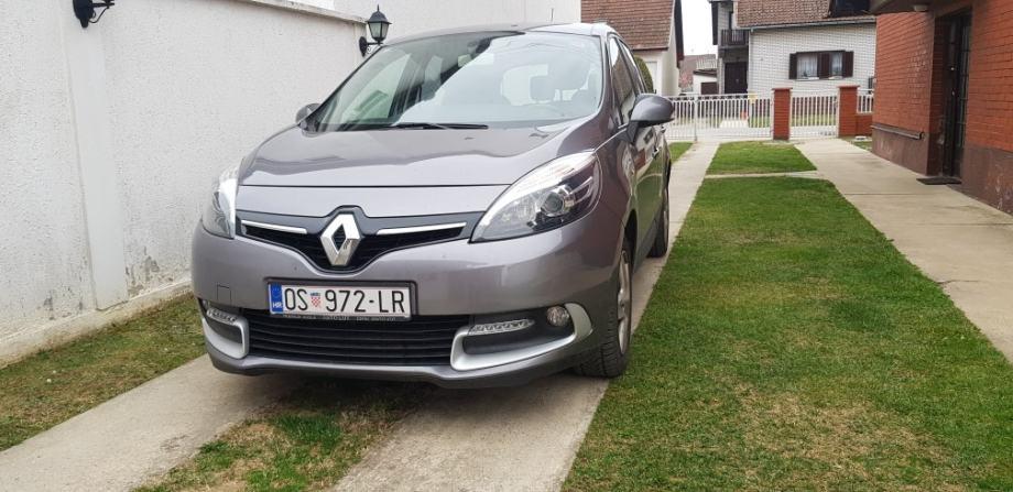 Renault Scenic 1,5 dCi .. • MOD.2014.G. • SERVISNA KNJ. • REG 08/20 •