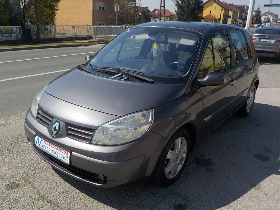 Renault Scenic 2.0i 16v,nije uvoz,oprema,reg.8/21,MODEL 2005**KARTICE*