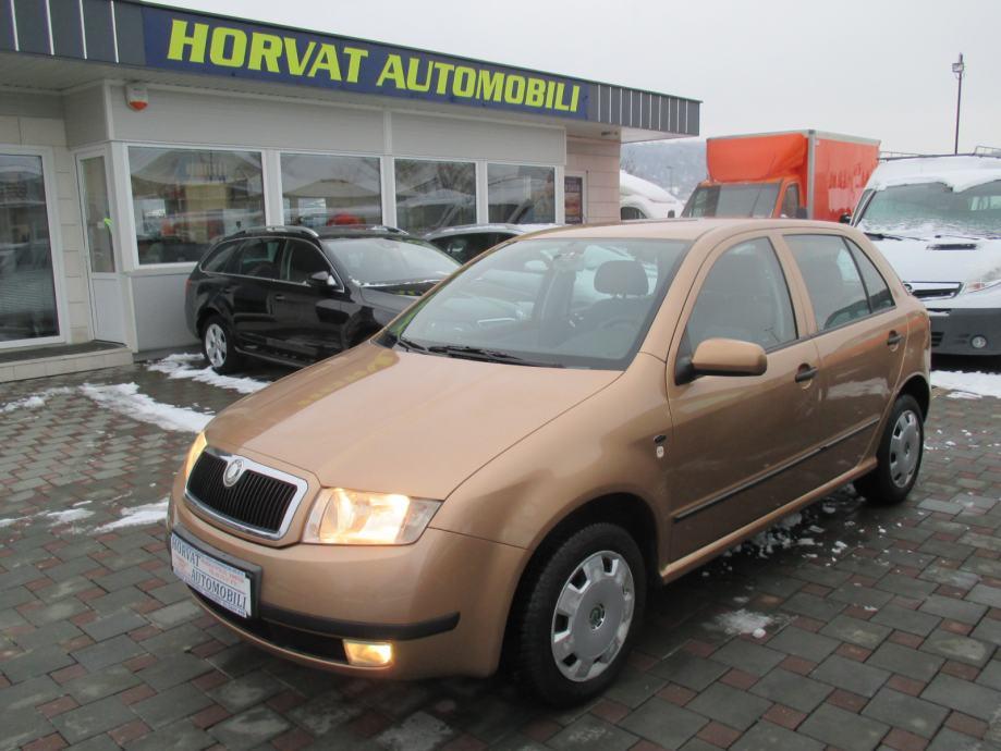 Škoda Fabia 1,9 SDI; Navigacija; CD/MP3/DVD; 5 vrata..