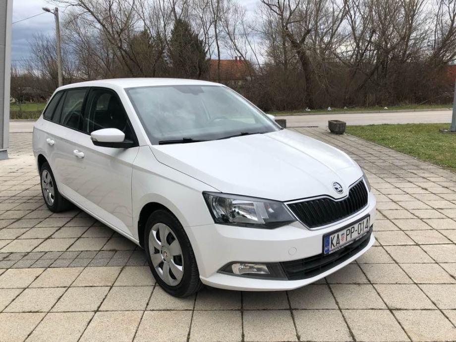 Škoda Fabia Combi 1,4 TDI • 2016 g. • PARK SENZORI • GARANCIJA