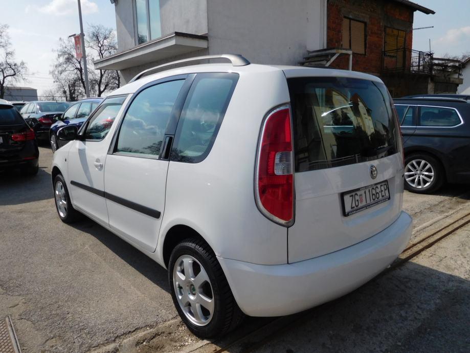 Škoda Roomster 1,4 TDI STYLE, ALU, KLIMA, REGISTRIRAN DO ...
