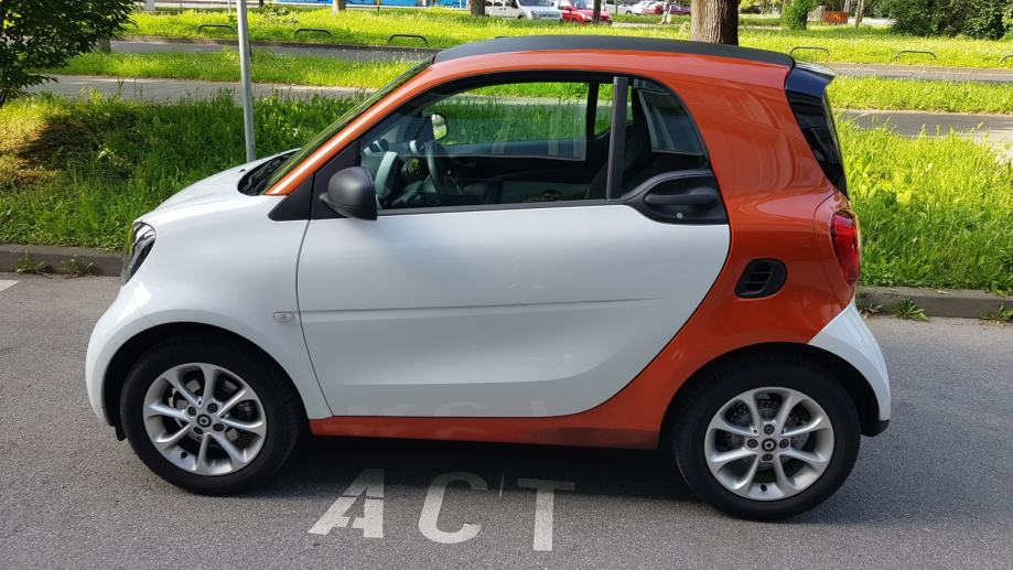 Smart fortwo coupe R1, PDV