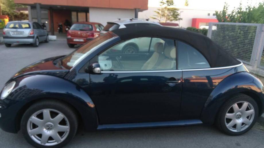 VW Beetle 1,6 CABRIO    PRILIKA!!!   SNIŽENO!!!