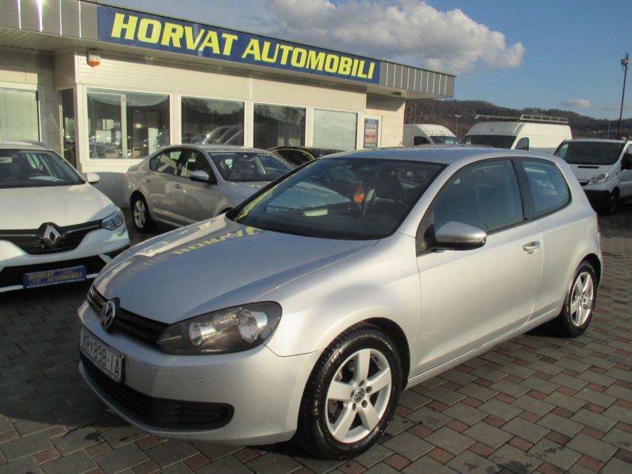 VW Golf VI 1,6 TDI; 77 kW; A. klima; Navi; Tempo; PDC..