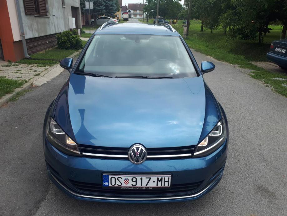 VW Golf VII Variant 2,0 TDI • DSG • Reg. 7/20 • Oglas iz usluge •