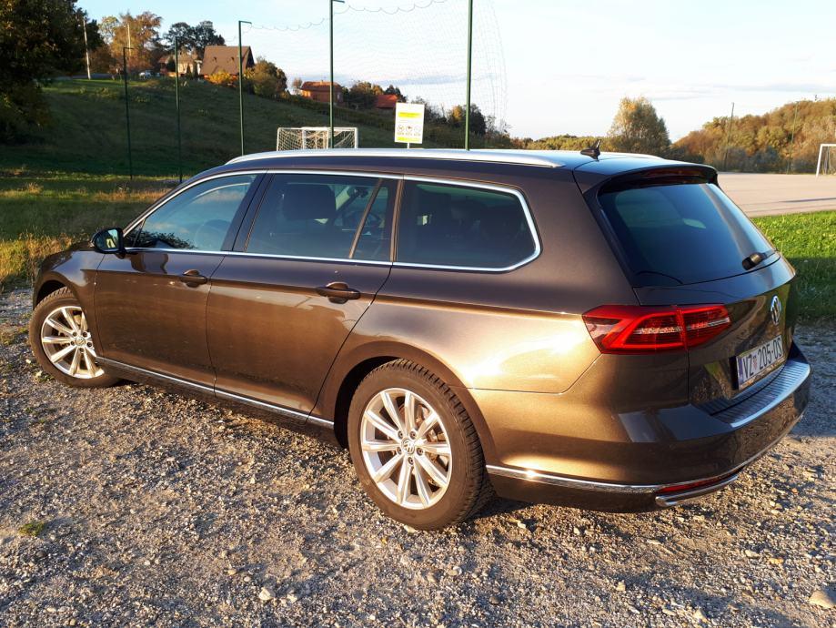 VW Passat Variant 2,0 TDI BMT highline, 2015 god.