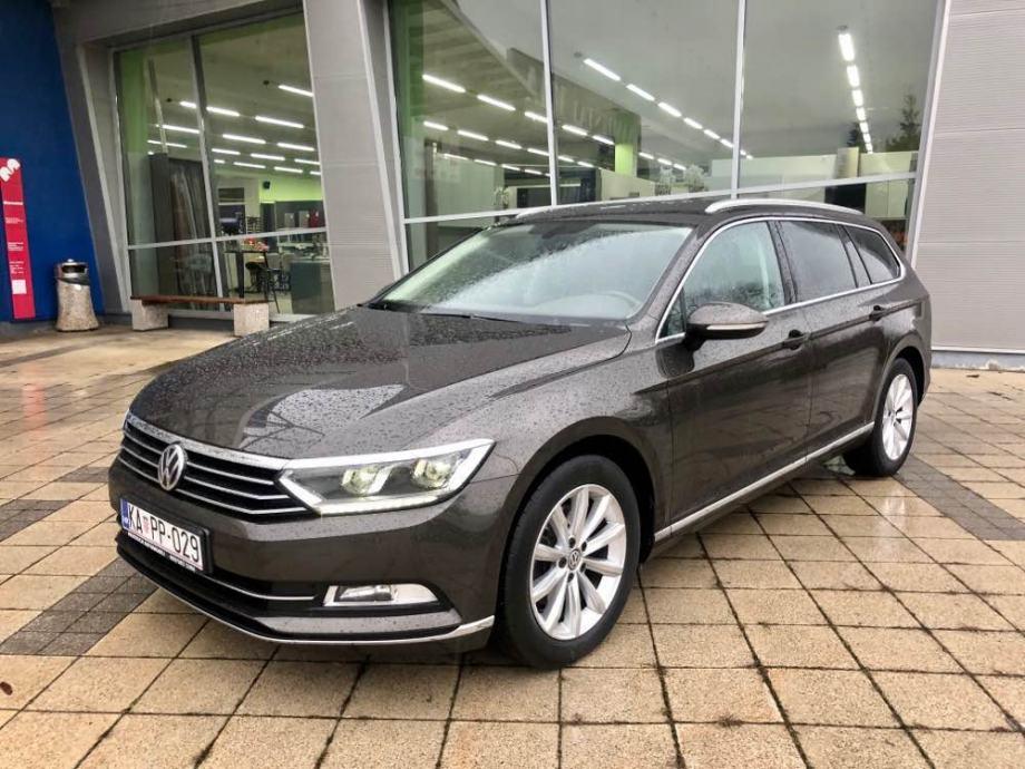 VW Passat Variant 2,0 TDI DSG • LED SVJETLA • CARAT OPREMA  •GARANCIJA