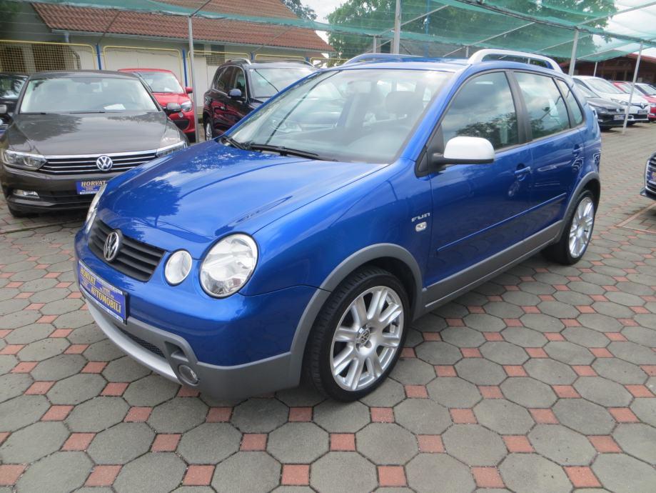 "VW Polo 1,4 TDI FUN CROSS;KLIMA;ALU 17"";SPORT PAKET;EL.PAKET;GARANCIJA"