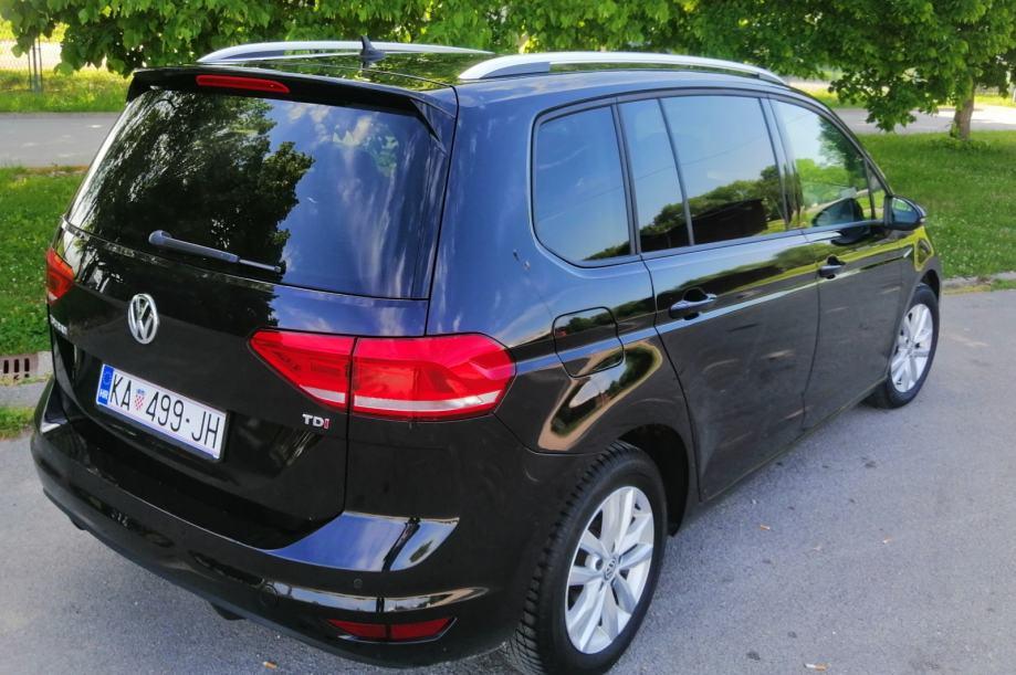 VW Touran 1,6 TDI BMT DSG automatik Registriran do 2/2021 ...
