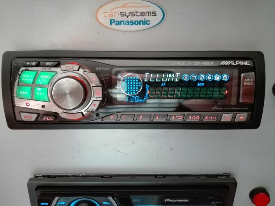 ALPINE AUTORADIO CDA 9831R