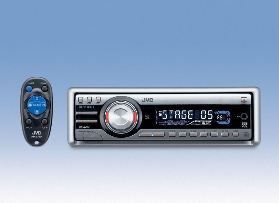 Auto MP3 radio Sony i auto MP3 radio JVC sa daljinskim -moguca zamjena