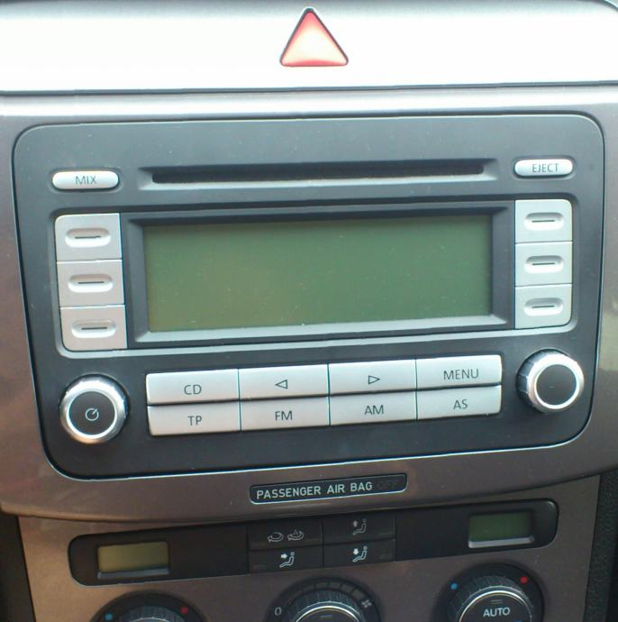 cd player vw rcd 300 passat b6. Black Bedroom Furniture Sets. Home Design Ideas