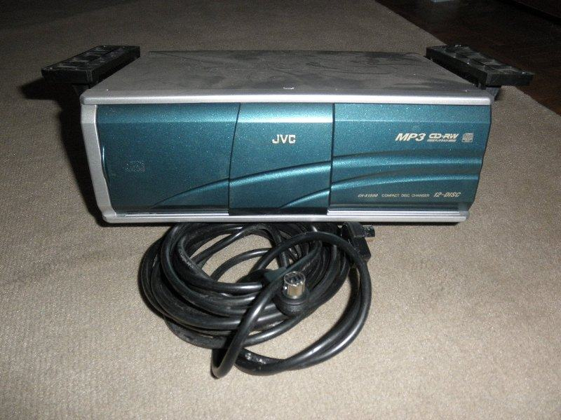 mp3    cd       changer    JVC    CH      X1500