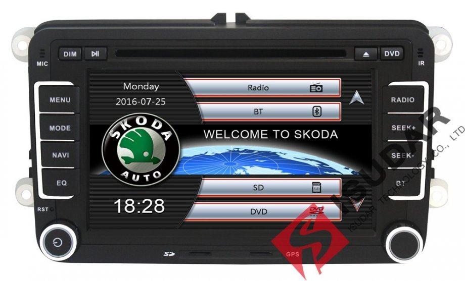 Navigacija RNS 510 za  ŠKODA vozila,  GPS,Bluetooth, NOVO  NA RATE !!