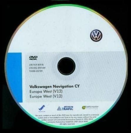 VOLKSWAGEN NAVIGACIJSKI DVD RNS510 **2019** NOVO