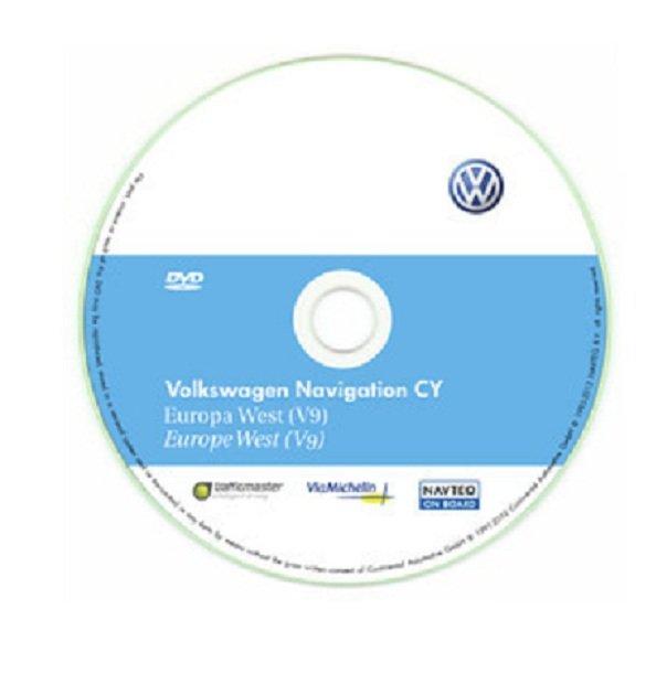 Najnovija Volkswagen Navigacija Cd Dvd Sd Karte Za 2020 Godinu Eu