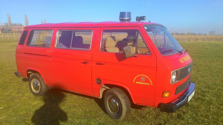 WV Caravelle transporter 1.6 TD Vatrogasni kombi Hitno, 1989 god.