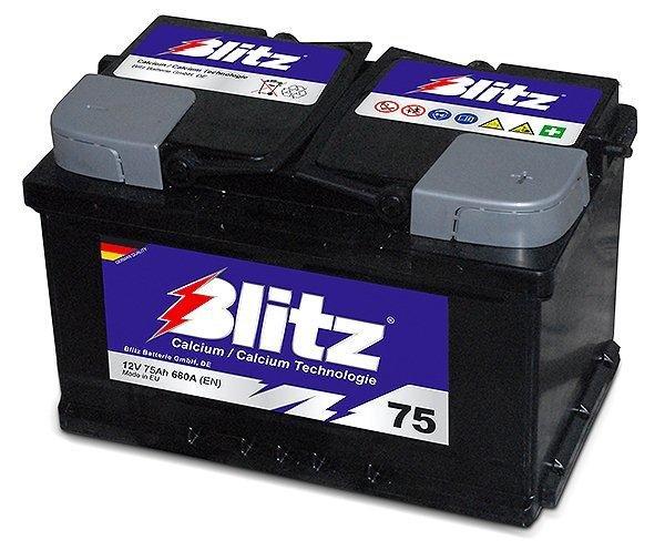 Akumulator Blitz 12V-75 Ah , 278x175x175,  2 GODINE GARANCIJE