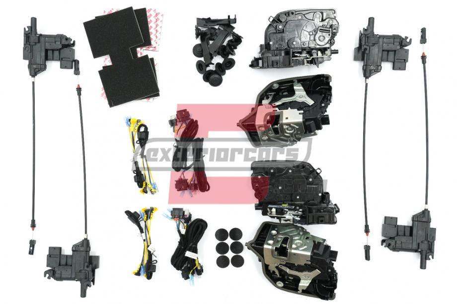 BMW 5er G30 G31 G38 G40 (17-19) - Električni Soft-Close sistem