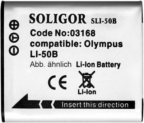 Soligor SLI-50B Baterija za Olympus