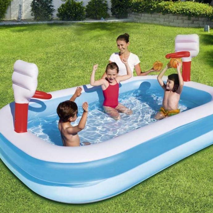 Dječji bazen s koševima 254x158x102 cm NOVO!!! ZAPAKIRANO!!!