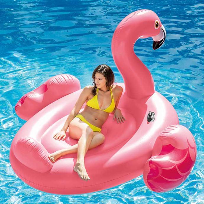 Luftić flamingo Mega Intex 218 x 211 x 136 cm