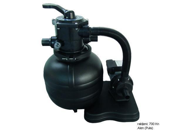 NOVO, FABRIČKI ZAPAKOVANOPumpa za bazen BESTWAY je električna filter.