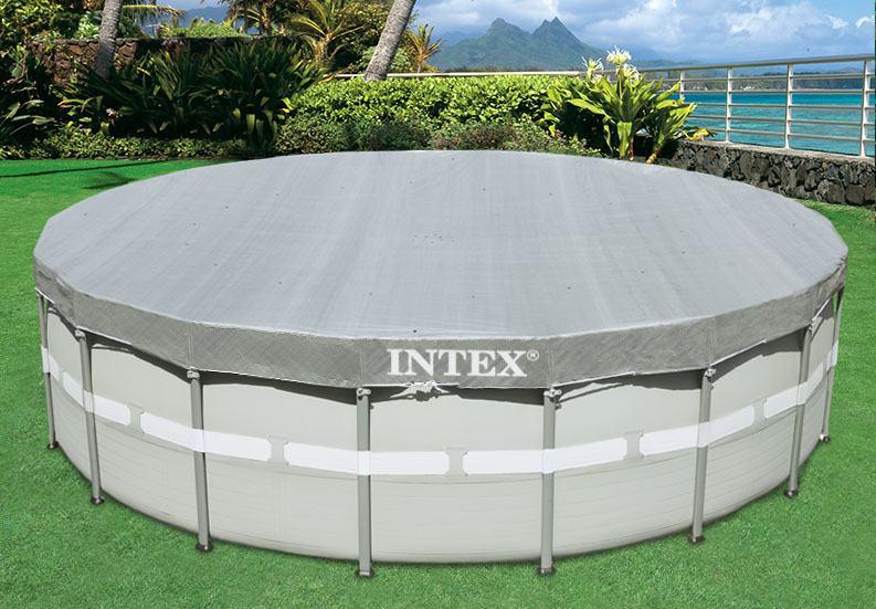 28040 Pokrivalo INTEX za bazen Metal 488 cm