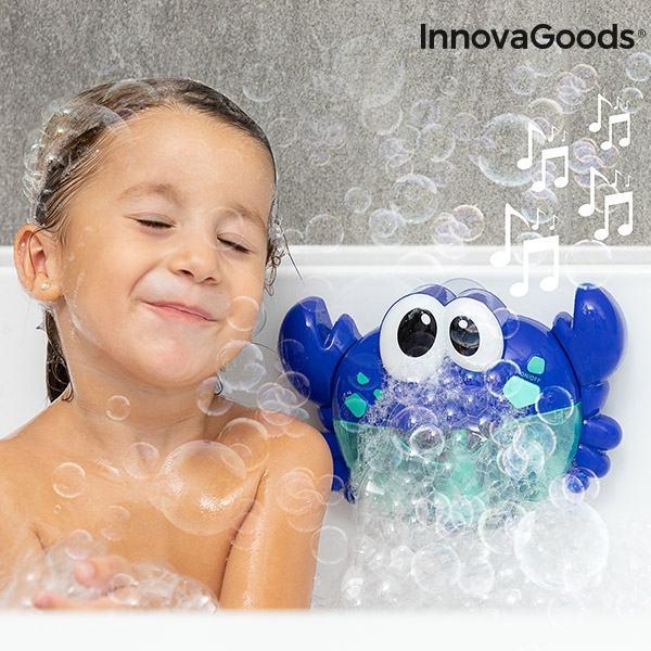 Glazbeni rak s mjehurićima sapunice za kupanje