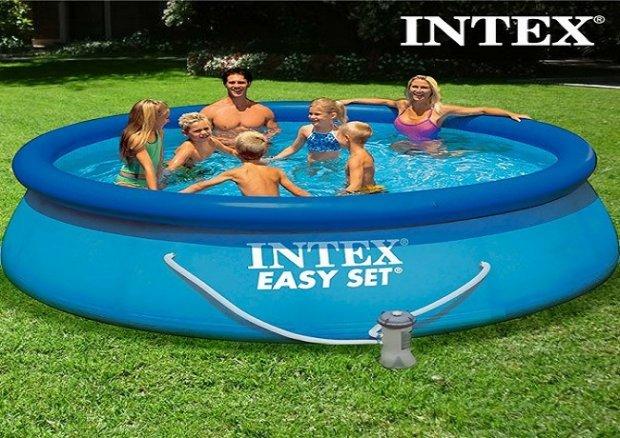 Intex bazeni 366x76 novi sa pumpom