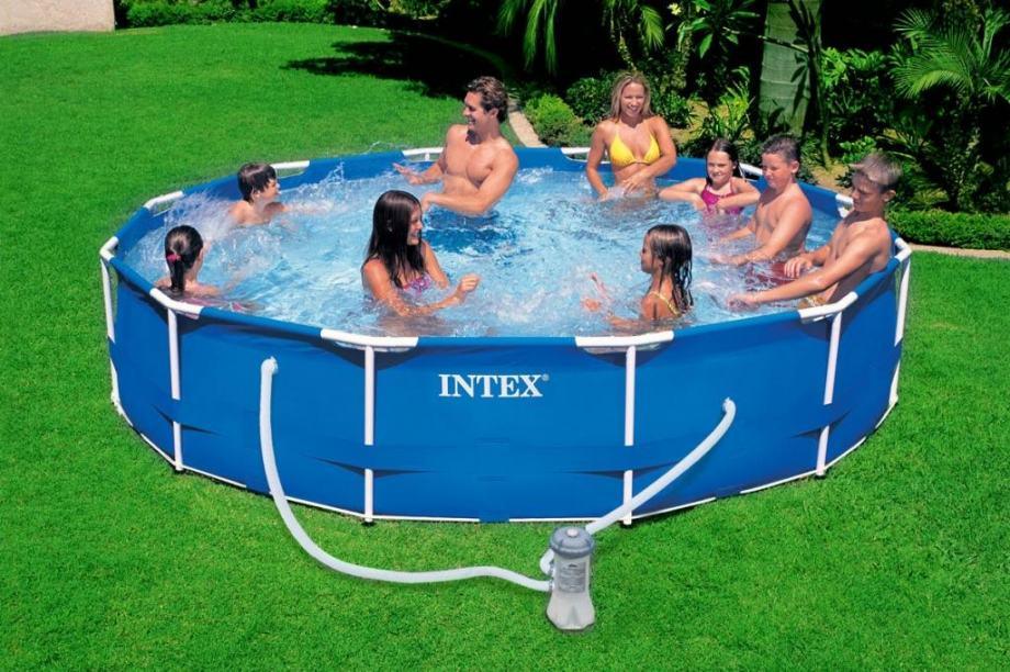 Intex novi bazeni 305x76cm sa pumpom i konstrukcijom