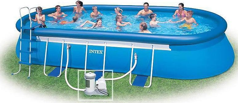 Intex ovalni bazeni novi 549x305x107