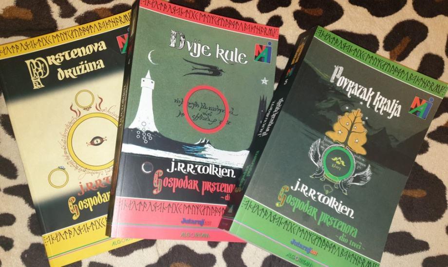 J. R. R. Tolkien: Gospodar prstenova 1-3