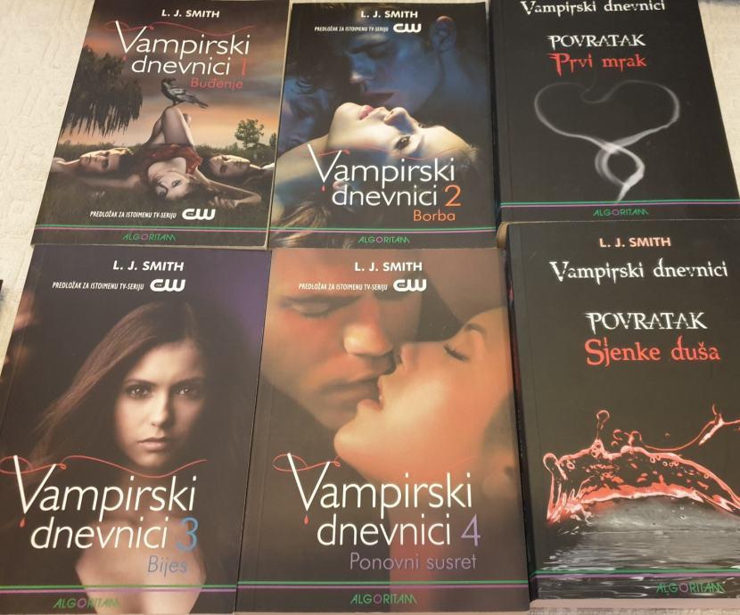 L. J. Smith: Vampirski dnevnici 1-6