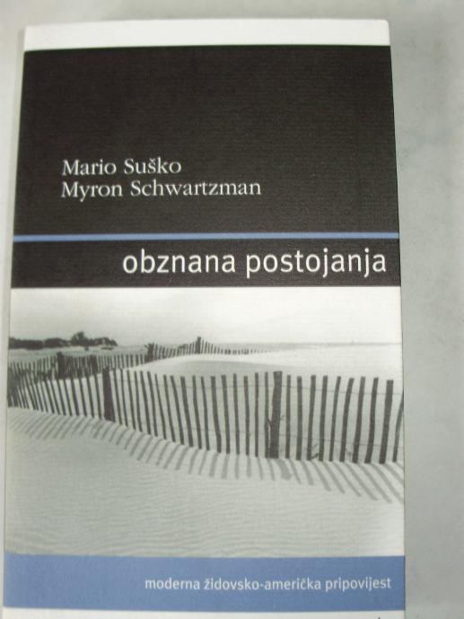 OBZNANA POSTOJANJA Mario Suško Myron Schwartzman