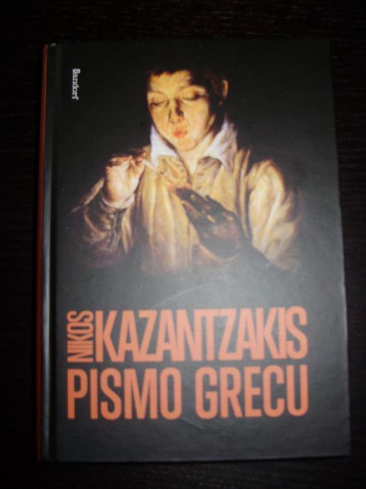 PISMO GRECU Nikos Kazantzakis