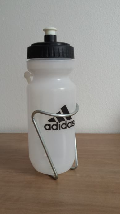 Adidas bidon za bicikl + nosač