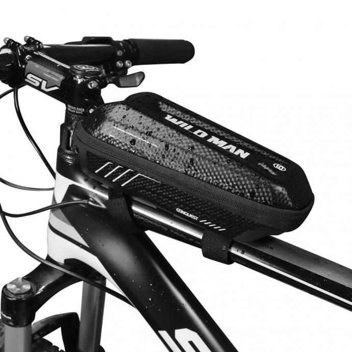 """Vodootporna torba za bicikle WildMan """"E5S"""" crna"""
