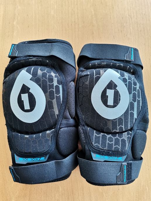 SixSixOne 661 Rage štitnici za koljena NOVI